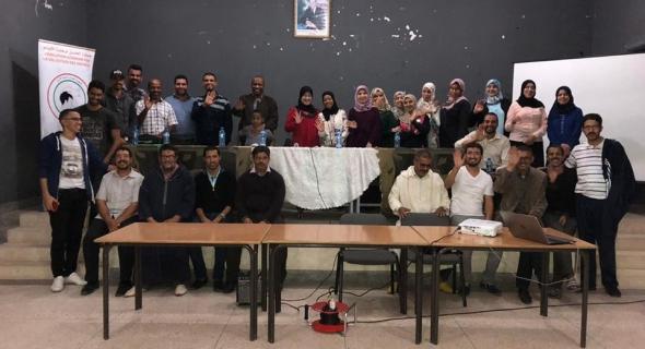 عقد الجمع العام للجمعية و انتخاب الاعضاء الجدد