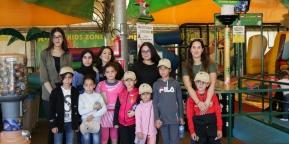 أمسية ترفيهية لأطفال جمعية الحنان بقرية الألعاب اكستريم بارك