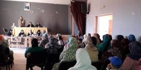 لقاء تواصلي بين اعضاء جمعية الحنان والارامل المستفيدات من الجمعية