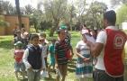 احدى عشر يتيما من جمعية الحنان يستفيدون من المخيم الحضاري