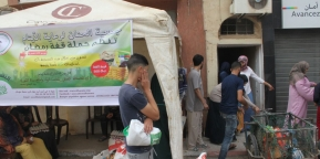 قفة رمضان النسخة السادسة: صور توزيع الدفعة الأولى